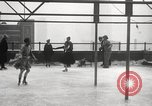 Image of Skating rink on rooftop Chicago Illinois USA, 1929, second 39 stock footage video 65675063701