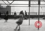 Image of Skating rink on rooftop Chicago Illinois USA, 1929, second 40 stock footage video 65675063701