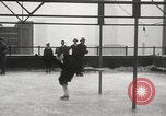 Image of Skating rink on rooftop Chicago Illinois USA, 1929, second 42 stock footage video 65675063701