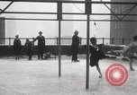 Image of Skating rink on rooftop Chicago Illinois USA, 1929, second 43 stock footage video 65675063701