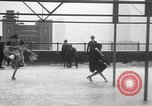 Image of Skating rink on rooftop Chicago Illinois USA, 1929, second 46 stock footage video 65675063701
