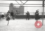 Image of Skating rink on rooftop Chicago Illinois USA, 1929, second 47 stock footage video 65675063701