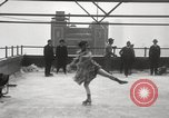 Image of Skating rink on rooftop Chicago Illinois USA, 1929, second 48 stock footage video 65675063701