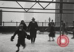 Image of Skating rink on rooftop Chicago Illinois USA, 1929, second 50 stock footage video 65675063701