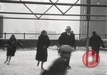 Image of Skating rink on rooftop Chicago Illinois USA, 1929, second 51 stock footage video 65675063701