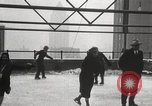 Image of Skating rink on rooftop Chicago Illinois USA, 1929, second 52 stock footage video 65675063701