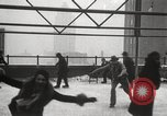 Image of Skating rink on rooftop Chicago Illinois USA, 1929, second 53 stock footage video 65675063701