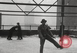 Image of Skating rink on rooftop Chicago Illinois USA, 1929, second 54 stock footage video 65675063701