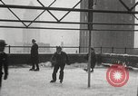 Image of Skating rink on rooftop Chicago Illinois USA, 1929, second 56 stock footage video 65675063701