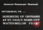 Image of United States orphans Pittsburgh Pennsylvania USA, 1934, second 4 stock footage video 65675063726