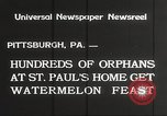 Image of United States orphans Pittsburgh Pennsylvania USA, 1934, second 6 stock footage video 65675063726