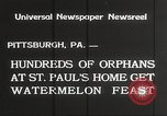 Image of United States orphans Pittsburgh Pennsylvania USA, 1934, second 7 stock footage video 65675063726