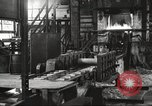 Image of Forging saw blades at Disston Saw works factory Philadelphia Pennsvlvania USA, 1920, second 5 stock footage video 65675063729