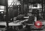 Image of Forging saw blades at Disston Saw works factory Philadelphia Pennsvlvania USA, 1920, second 7 stock footage video 65675063729