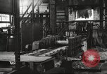 Image of Forging saw blades at Disston Saw works factory Philadelphia Pennsvlvania USA, 1920, second 8 stock footage video 65675063729