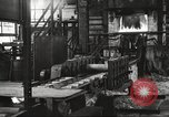 Image of Forging saw blades at Disston Saw works factory Philadelphia Pennsvlvania USA, 1920, second 9 stock footage video 65675063729