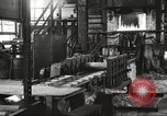 Image of Forging saw blades at Disston Saw works factory Philadelphia Pennsvlvania USA, 1920, second 11 stock footage video 65675063729