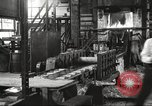 Image of Forging saw blades at Disston Saw works factory Philadelphia Pennsvlvania USA, 1920, second 13 stock footage video 65675063729
