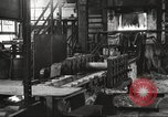 Image of Forging saw blades at Disston Saw works factory Philadelphia Pennsvlvania USA, 1920, second 14 stock footage video 65675063729