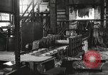 Image of Forging saw blades at Disston Saw works factory Philadelphia Pennsvlvania USA, 1920, second 15 stock footage video 65675063729