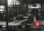 Image of Forging saw blades at Disston Saw works factory Philadelphia Pennsvlvania USA, 1920, second 17 stock footage video 65675063729