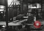 Image of Forging saw blades at Disston Saw works factory Philadelphia Pennsvlvania USA, 1920, second 18 stock footage video 65675063729