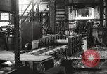 Image of Forging saw blades at Disston Saw works factory Philadelphia Pennsvlvania USA, 1920, second 19 stock footage video 65675063729