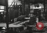 Image of Forging saw blades at Disston Saw works factory Philadelphia Pennsvlvania USA, 1920, second 20 stock footage video 65675063729