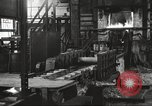 Image of Forging saw blades at Disston Saw works factory Philadelphia Pennsvlvania USA, 1920, second 21 stock footage video 65675063729