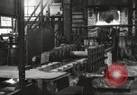 Image of Forging saw blades at Disston Saw works factory Philadelphia Pennsvlvania USA, 1920, second 22 stock footage video 65675063729