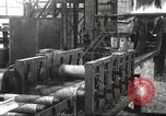 Image of Forging saw blades at Disston Saw works factory Philadelphia Pennsvlvania USA, 1920, second 23 stock footage video 65675063729