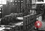 Image of Forging saw blades at Disston Saw works factory Philadelphia Pennsvlvania USA, 1920, second 24 stock footage video 65675063729