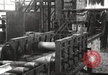 Image of Forging saw blades at Disston Saw works factory Philadelphia Pennsvlvania USA, 1920, second 25 stock footage video 65675063729