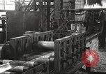 Image of Forging saw blades at Disston Saw works factory Philadelphia Pennsvlvania USA, 1920, second 26 stock footage video 65675063729