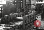 Image of Forging saw blades at Disston Saw works factory Philadelphia Pennsvlvania USA, 1920, second 27 stock footage video 65675063729