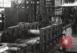 Image of Forging saw blades at Disston Saw works factory Philadelphia Pennsvlvania USA, 1920, second 29 stock footage video 65675063729