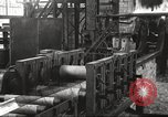 Image of Forging saw blades at Disston Saw works factory Philadelphia Pennsvlvania USA, 1920, second 30 stock footage video 65675063729