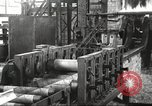 Image of Forging saw blades at Disston Saw works factory Philadelphia Pennsvlvania USA, 1920, second 31 stock footage video 65675063729