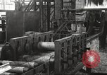 Image of Forging saw blades at Disston Saw works factory Philadelphia Pennsvlvania USA, 1920, second 33 stock footage video 65675063729