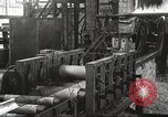 Image of Forging saw blades at Disston Saw works factory Philadelphia Pennsvlvania USA, 1920, second 34 stock footage video 65675063729