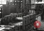 Image of Forging saw blades at Disston Saw works factory Philadelphia Pennsvlvania USA, 1920, second 35 stock footage video 65675063729
