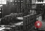 Image of Forging saw blades at Disston Saw works factory Philadelphia Pennsvlvania USA, 1920, second 36 stock footage video 65675063729