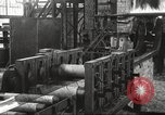 Image of Forging saw blades at Disston Saw works factory Philadelphia Pennsvlvania USA, 1920, second 37 stock footage video 65675063729