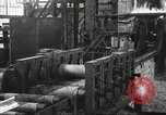 Image of Forging saw blades at Disston Saw works factory Philadelphia Pennsvlvania USA, 1920, second 38 stock footage video 65675063729
