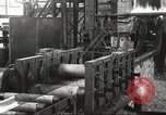 Image of Forging saw blades at Disston Saw works factory Philadelphia Pennsvlvania USA, 1920, second 39 stock footage video 65675063729