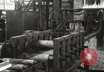Image of Forging saw blades at Disston Saw works factory Philadelphia Pennsvlvania USA, 1920, second 41 stock footage video 65675063729