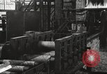 Image of Forging saw blades at Disston Saw works factory Philadelphia Pennsvlvania USA, 1920, second 43 stock footage video 65675063729