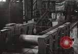 Image of Forging saw blades at Disston Saw works factory Philadelphia Pennsvlvania USA, 1920, second 48 stock footage video 65675063729
