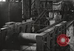 Image of Forging saw blades at Disston Saw works factory Philadelphia Pennsvlvania USA, 1920, second 49 stock footage video 65675063729