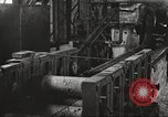 Image of Forging saw blades at Disston Saw works factory Philadelphia Pennsvlvania USA, 1920, second 50 stock footage video 65675063729
